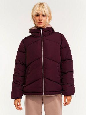 Бордовая зимняя куртка Befree