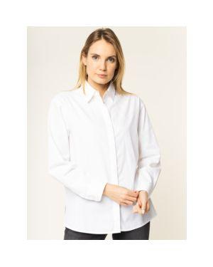Biała koszula bawełniana Calvin Klein Jeans