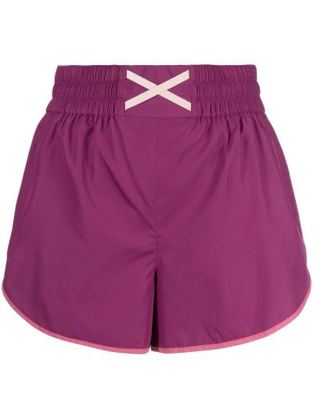 Шорты с карманами - фиолетовые Marchesa