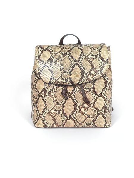 Beżowy plecak Roccobarocco