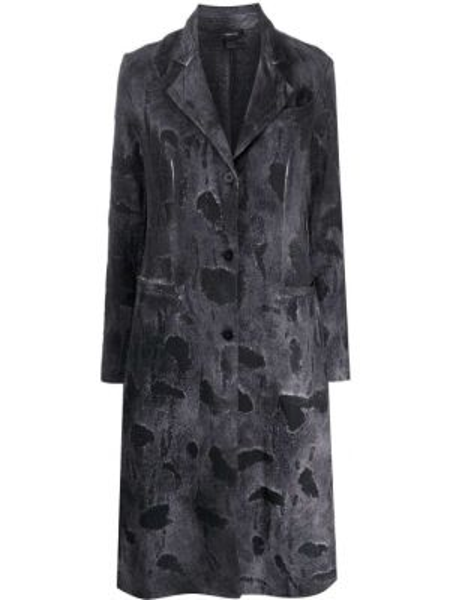 Хлопковая серая куртка Avant Toi