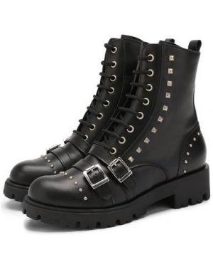 Ботинки кожаные на шнуровке Trevirgolazero 3,0