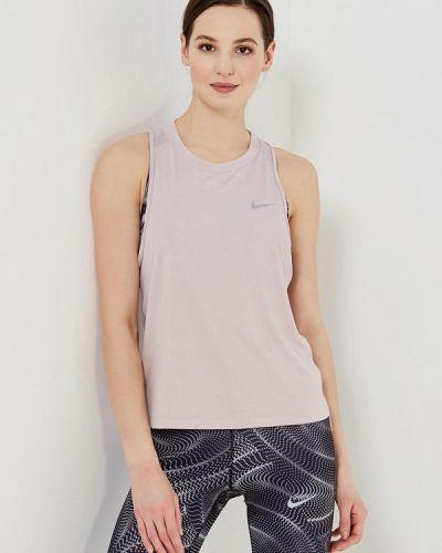 Розовая спортивная майка Nike