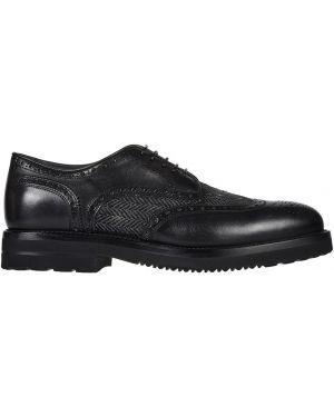 Кожаные туфли - серые Franceschetti