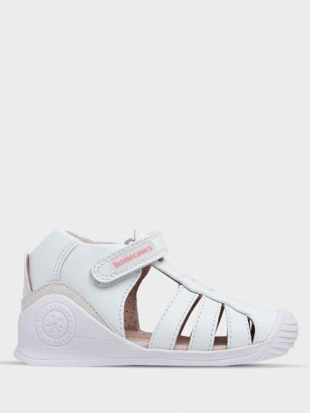 Кожаные сандалии - белые Biomecanics