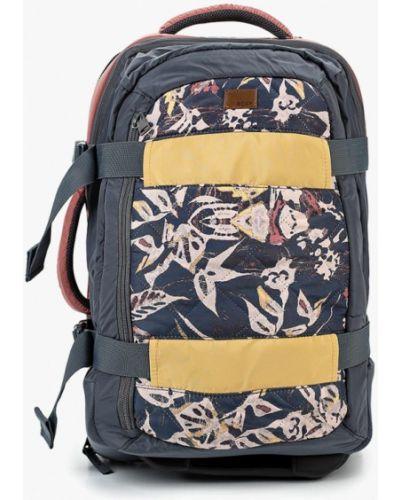 Серая дорожная сумка Roxy