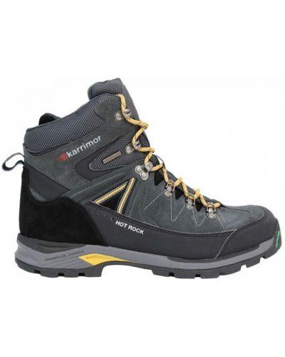 Ботинки на шнуровке - черные Karrimor