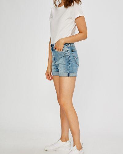 Джинсовые шорты с завышенной талией с карманами Lee