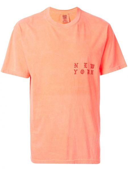 Różowy t-shirt bawełniany krótki rękaw Yeezy