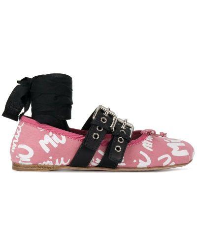 b7a010c4bb25 Женские балетки Miu Miu (Миу Миу) - купить в интернет-магазине - Shopsy