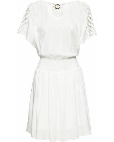 Летнее платье мини ажурное Bonprix