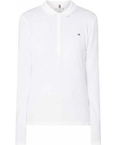 T-shirt bawełniana - biała Tommy Hilfiger