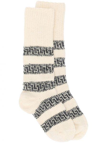 Вязаные носки в рубчик Isabel Marant