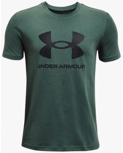 Зеленая футболка Under Armour