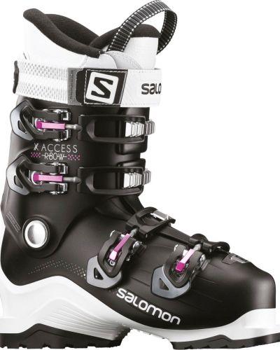 Сиреневые ботинки Salomon