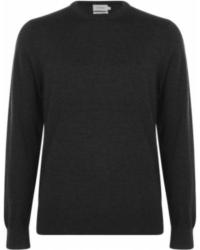 Sweter dzianinowy - czarny Calvin Klein