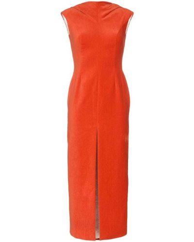 Платье без рукавов красный Situationist