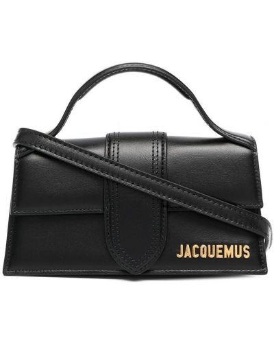 Czarna torebka mini skórzana Jacquemus