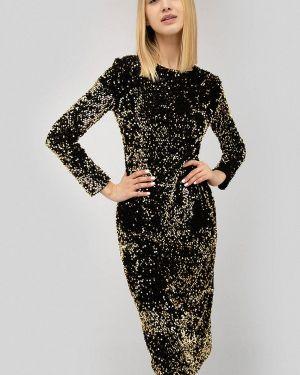 Вечернее платье золотое Cardo