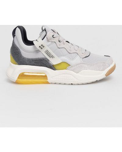 Szare sneakersy sznurowane Jordan