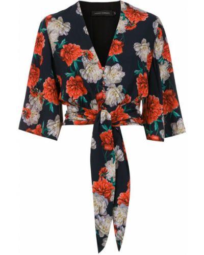 Блузка с запахом батник Andrea Marques