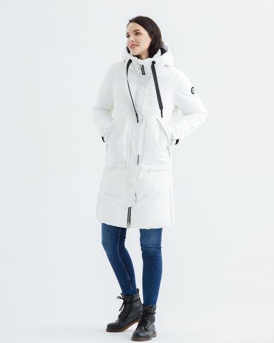 Пуховик классический - белый Snowimage