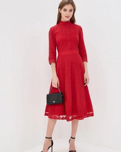Платье красный Lusio