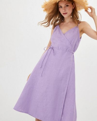 Фиолетовый сарафан Прованс
