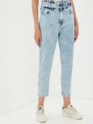 Голубые зауженные джинсы Tiffosi