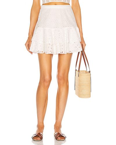 Хлопковая юбка - белая Charo Ruiz Ibiza