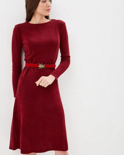 Платье бордовый красный Mari Vera