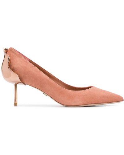 Туфли-лодочки кожаные на шпильке Le Silla