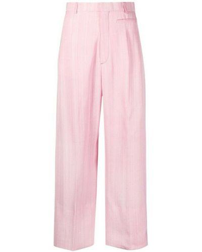 Spodnie - różowe Jacquemus