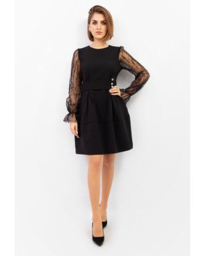 Платье макси длинное - черное Espiga