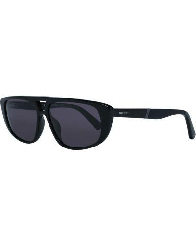 Czarne okulary Diesel
