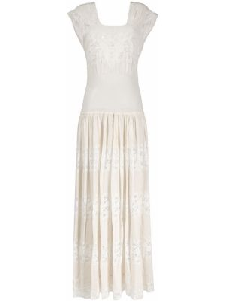 Платье винтажная шелковое A.n.g.e.l.o. Vintage Cult
