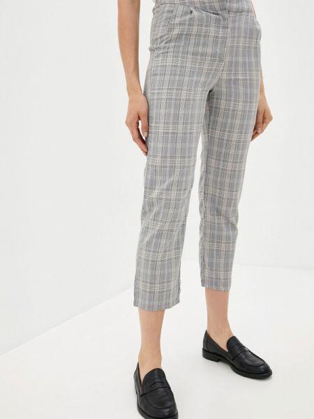 Повседневные серые брюки осенние B.style