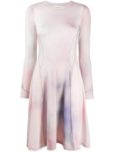 Платье мини с рукавами приталенное Wood Wood
