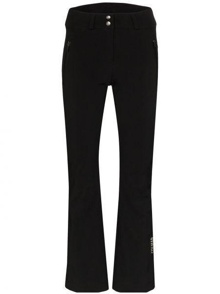 Расклешенные черные брюки Colmar