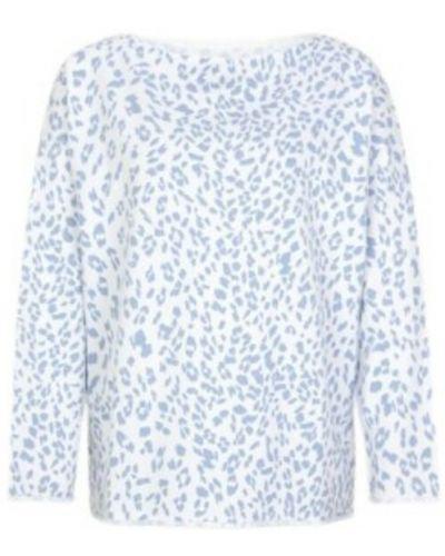 Bluzka - niebieska Juvia