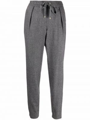 Серые шерстяные спортивные брюки Lorena Antoniazzi