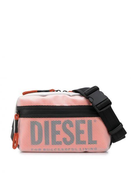 Поясная сумка на молнии на плечо Diesel