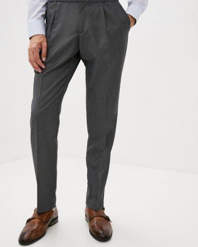 Серые классические брюки Btc