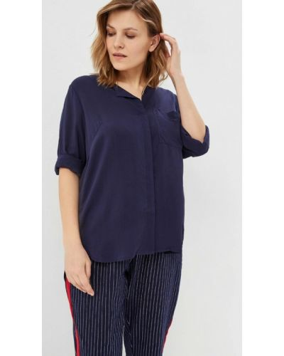 Синяя блузка Junarose
