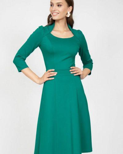 Повседневное зеленое платье Grey Cat