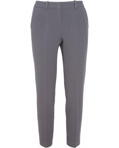 Шерстяные деловые серые классические брюки Alena Akhmadullina