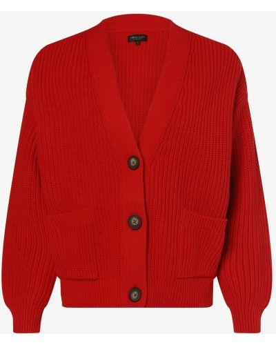 Czerwony sweter dzianinowy Marie Lund