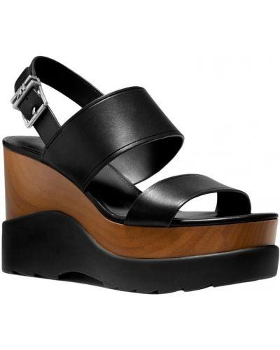Czarne sandały sportowe Michael Kors