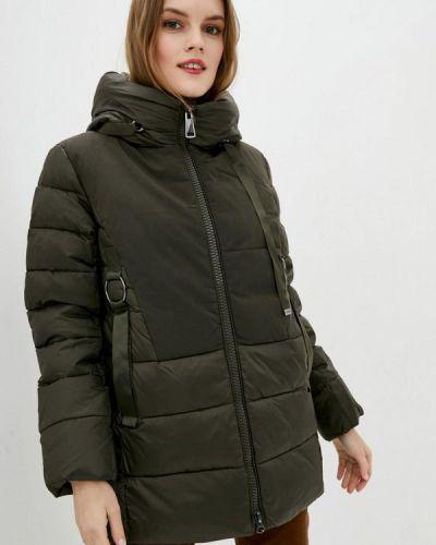 Утепленная куртка - зеленая Clasna
