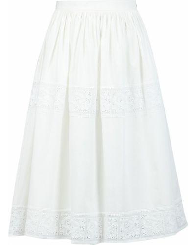 Костюм свободного кроя белый Blugirl